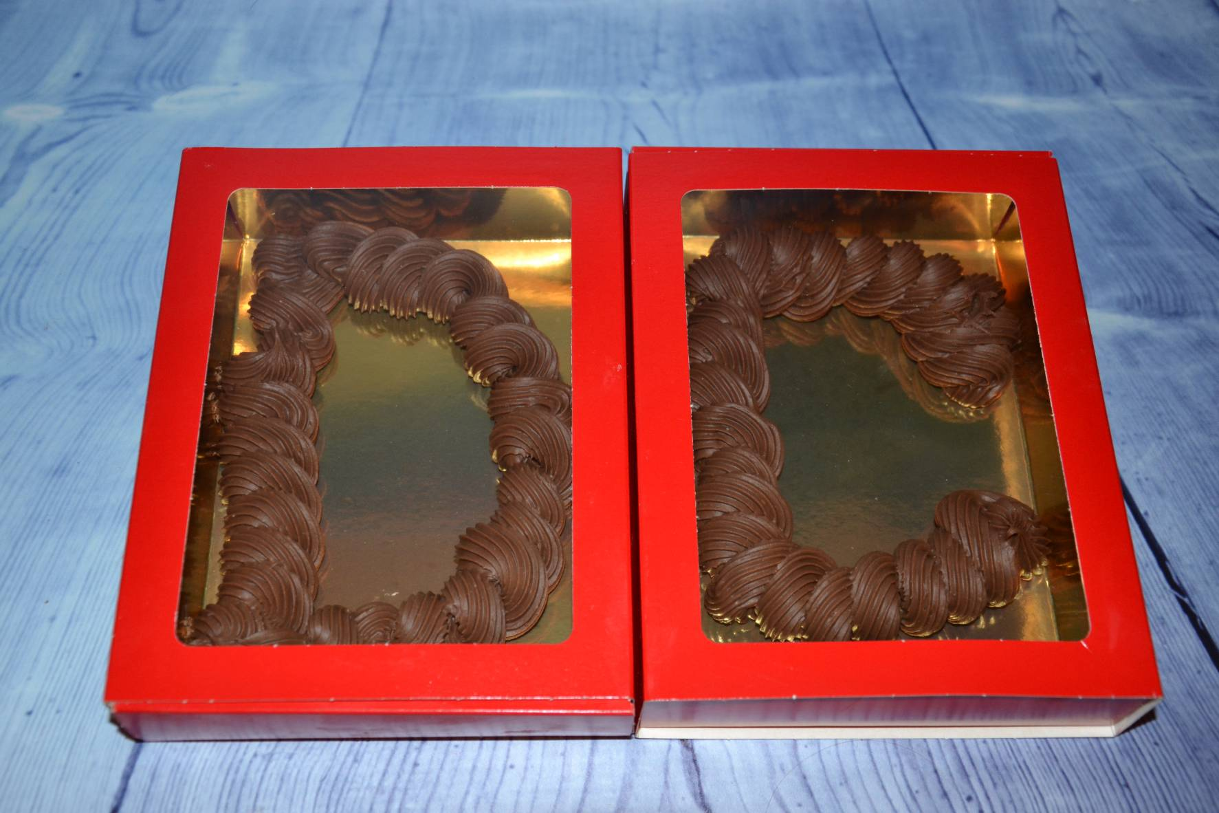 chocoladeletter Dylian en chemaine